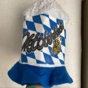 VTG Oktoberfest Beer Mug Hat Buckethead Costume
